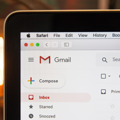 emails, inbox, message